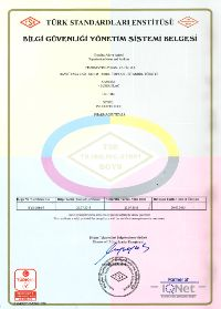 TS ISO/IEC 27001 Information Security Management System Certificate